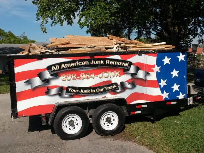 Dumpster Rental from All American Junk Removal